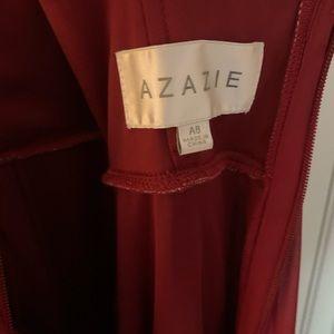 Azazie Dresses - Azazie Athena Maternity Burgundy Dress